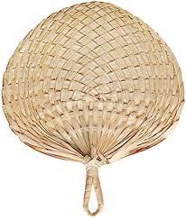 1240300 1 abanico de rafia natural hecho a mano, estilo chino, abanico de  rafia natural para refrigeración de verano: Amazon.es: Hogar