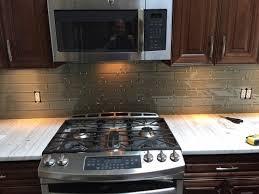 finished edge for glass tile backsplash