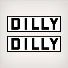 Dilly Trailer Logo Decal Set