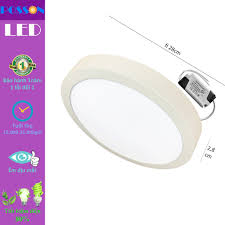 Đèn Led ốp trần 24w tròn ốp nổi sáng trắng Posson LP-Ro24