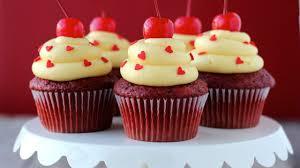 Capcake قلوب التوت كرز شوكولاتة مجانا Hd خلفيات سطح المكتب