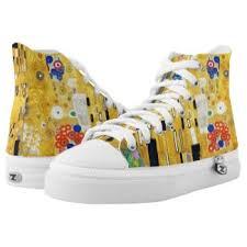 gustav klimt the kiss high top shoes