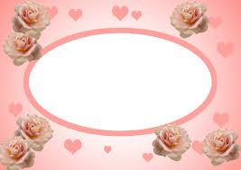 valentine s day frame and borders