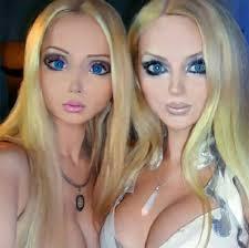 how to makeup like barbie doll