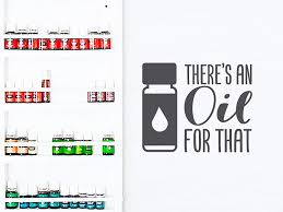 Amazon Com Story Of Home Llc There S An Oil For That Wall Decal Essential Oils Decal Essential Oils Wall Sticker Vinyl Wall Decal Car Decal Home Kitchen
