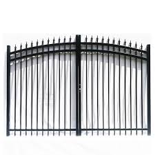 China Modern Metal Simple Manual Automatic Aluminum Sliding Driveway Gate System Designs Drawing For Homes China Door Aluminum Gate