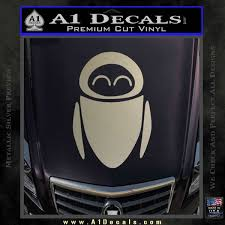 Eve From Wall E D1 Decal Sticker A1 Decals