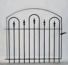 Wrought Iron Small Garden Gate 36 X 43 Iron Fence Gate