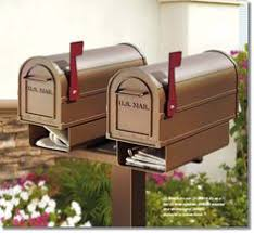 Antique Rural Mailboxes And Accessories Hoover Fence Co Double Mailbox Post Rural Mailbox Mailbox Post