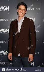 WGN's 'Manhattan' - Photocall Featuring: Ashley Zukerman Where Stock Photo  - Alamy