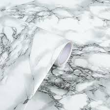 Marble Wall Sticker Thick Vinyl Wallpaper Room Decoration Wall Art Decal Suitable For Kitchen Living Room Desktop 45cm X 10m Wallpapers Aliexpress