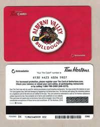 new 2016 tim hortons canada gift card