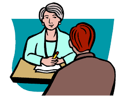 Face To Face Job Interview Clipart