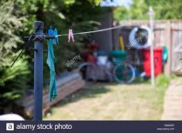 Washing Line Post High Resolution Stock Photography And Images Alamy