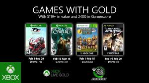 can play for free on xbox live gold