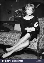 Hildegard Knef at the Hotel Continental in Munich Stock Photo - Alamy