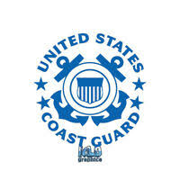United States Coast Guard Vinyl Car Window Decal Sticker U S C G Home Garden Decor Decals Stickers Vinyl Art Ayianapatriathlon Com