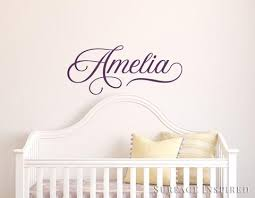 Nursery Wall Decal Kids Wall Decal Wall Decals For Girls Or Boys Wall Surface Inspired Home Decor Wall Decals Wall Art Wooden Letters