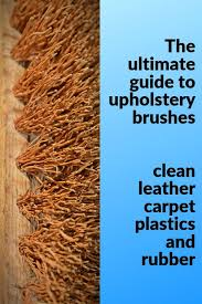 best upholstery brush clean leather