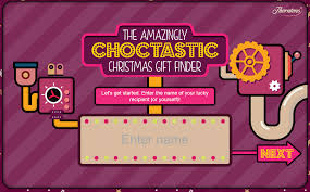 choctastic gift finder with thorntons