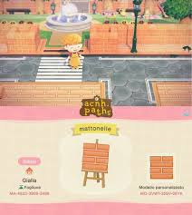 Animal Crossing Patterns On Instagram Here S A Brick Sidewalk That Matches The Brick Fence In 2020 Animal Crossing Animal Crossing Game Animal Crossing Villagers