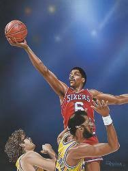 Julius Erving 76ers Posters Prints Paintings Wall Art For Sale Allposters Com