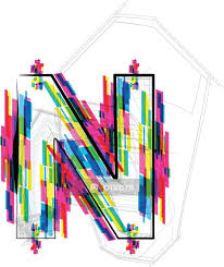 Font Illustration Letter N Vector Illustration Wall Decal Pixers We Live To Change