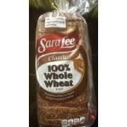 sara lee clic 100 whole wheat bread