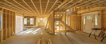 wood frame construction of homes