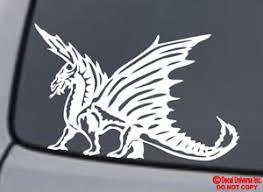 Car Truck Graphics Decals Motors Dragon Vinyl Decal Sticker Car Window Wall Bumper Tribal Asian Symbol Of Power Megeriancarpet Am