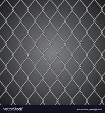 Metal Fence On Dark Background Royalty Free Vector Image