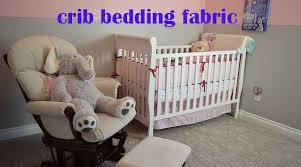 fabric to make crib bedding linens n