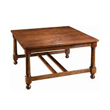 square cocktail table with nesting