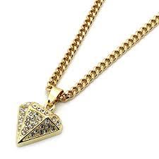diamond pendant necklace mens