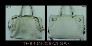 michael kors handbag cleaning and