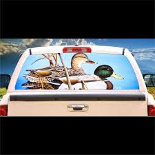 Mallards Ducks Window Mural Tint Decal Graphic Custom Tire Covers