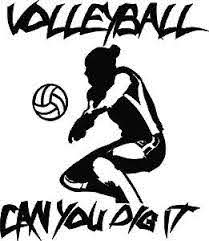 Customized Volleyball Car Window Decals Stickers Tagsports Net