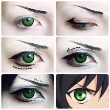 cosplay makeup tutorial for guys