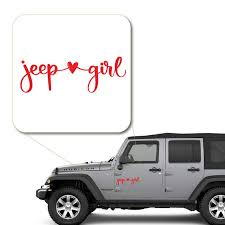 Girl Loves Jeep Decal Sticker For Car Window Laptop And More 1044 Yoonek Graphics