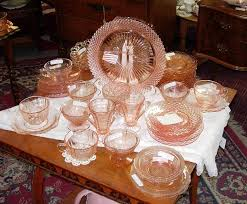 depression glass collecting a brief