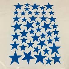 Starry Wall Decals Removable Colorful Pvc Star Stickers For Nursery Room Diy Decor Nordicwallart Com
