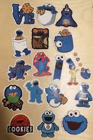 Sesame Street Waterproof Vinyl Stickers Design Craft Art Prints On Carousell