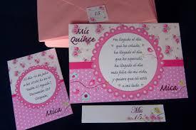 Tarjetas Invitaciones Cumpleanos 15 Anos X 20 Unidades 550 00