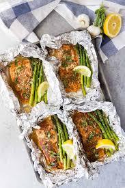 asparagus salmon foil packets spend