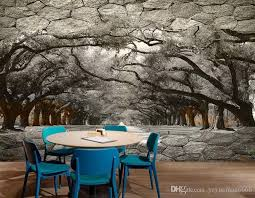 Custom Wall Stickers 3 D Cave Forest 3d Wallpaper For Bedroom Three Dimensional Large Scale Background Wall Photo Wallpapers 3d Free Nature Wallpaper Free Pc Wallpaper From Yeyueman6666 10 98 Dhgate Com