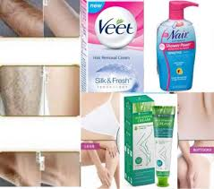 can hair removal cream be used on