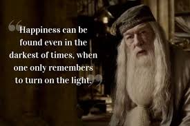 dumbledore quotes words of wisdom from the harry potter series
