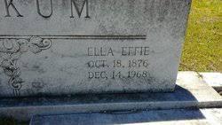 Ella Effie Graham Beckum (1876-1968) - Find A Grave Memorial