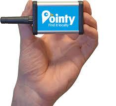 pointy be found locally