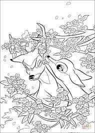 Feline En Bambi Kleurplaat Kleurplaat Kleurplaatje Nl